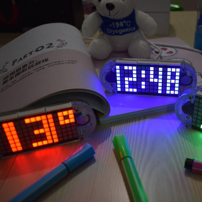 Jual DIY DS3231 Touch Key Alarm/Clock/Date/Week/Temperature LED Matrix -  DKI Jakarta - flower ever | Tokopedia