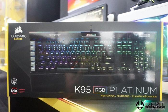 Jual K95 Platinum RGB Cherry MX Brown Switch RGB Backlight Corsair - DKI  Jakarta - anandashop311 | Tokopedia