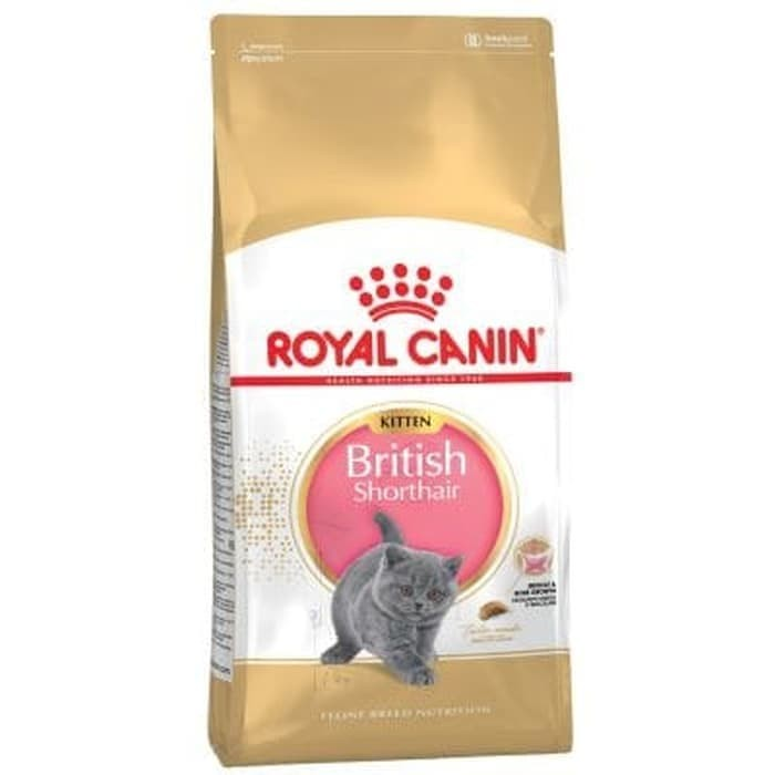 Jual Royal Canin Kitten British Short Hair 2kg Makanan Kucing Anakan Kota Depok Petshop Depok Tokopedia