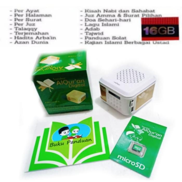 Jual speaker murottal Al Quran + chip quran MP3 alquran digital 30 juz ayat  - Jakarta Barat - Sunly elektronik   Tokopedia