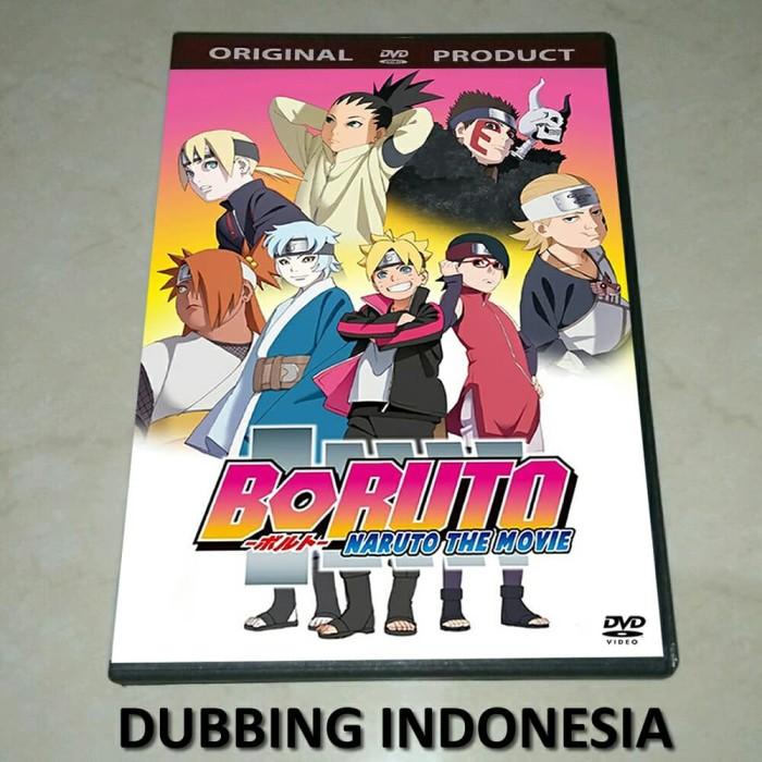 harga Dvd boruto - naruto the movie (2015) dub indo Tokopedia.com
