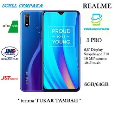 harga Realme 3 pro - 6gb/64gb - garansi resmi Tokopedia.com