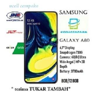 harga Samsung galaxy a80 - 8gb/128gb - garansi resmi Tokopedia.com