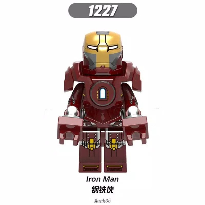 Jual Minifigure Iron Man Mark 35 Jakarta Selatan Kentzshop Tokopedia