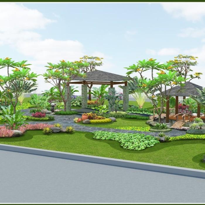 Jual Jasa Desain Taman - Kelapa Gading - Kios Bunga Fenny Flower   Tokopedia