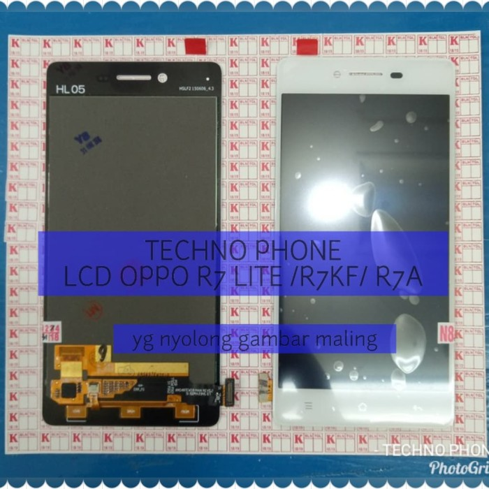 Foto Produk lcd touchsreen fullset oppo R7 LITE R7KF R7A dari techno phone cikarang