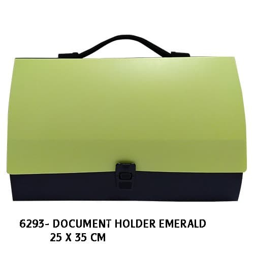 Document holder emerald - 6293