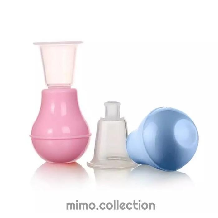 Foto Produk Nipple Puller w/ kotak casing | Alat Penarik Puting Susu Datar ASI dari Mimo collection
