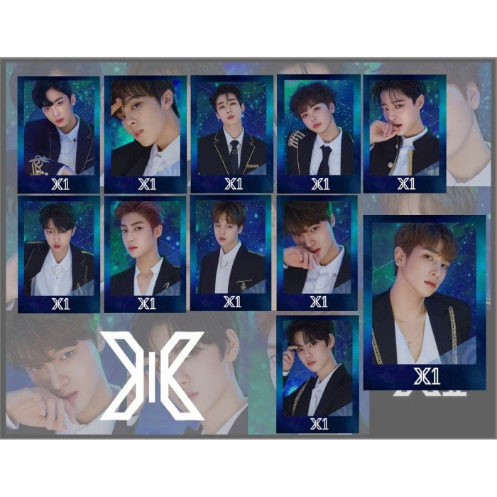 Jual Polaroid X1 Produce Kpop Kab Banyumas Korea Edition Tokopedia