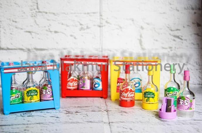 Foto Produk produk unggulan Rautan Botol Minuman TXB56130 (1 krat) dari andikas1