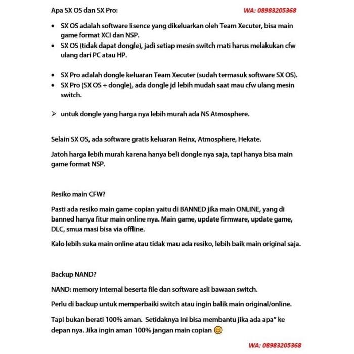 Jual Nintendo Switch CFW 200GB SX OS SX PRO - SX OS - Jakarta Pusat -  Butikgames | Tokopedia