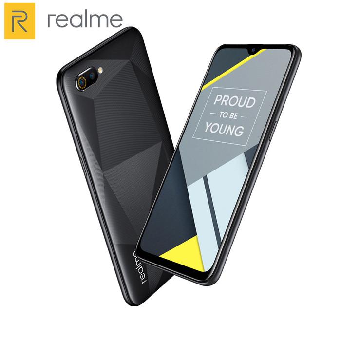 harga Realme c2 ram 3/32gb garansi resmi - hitam Tokopedia.com