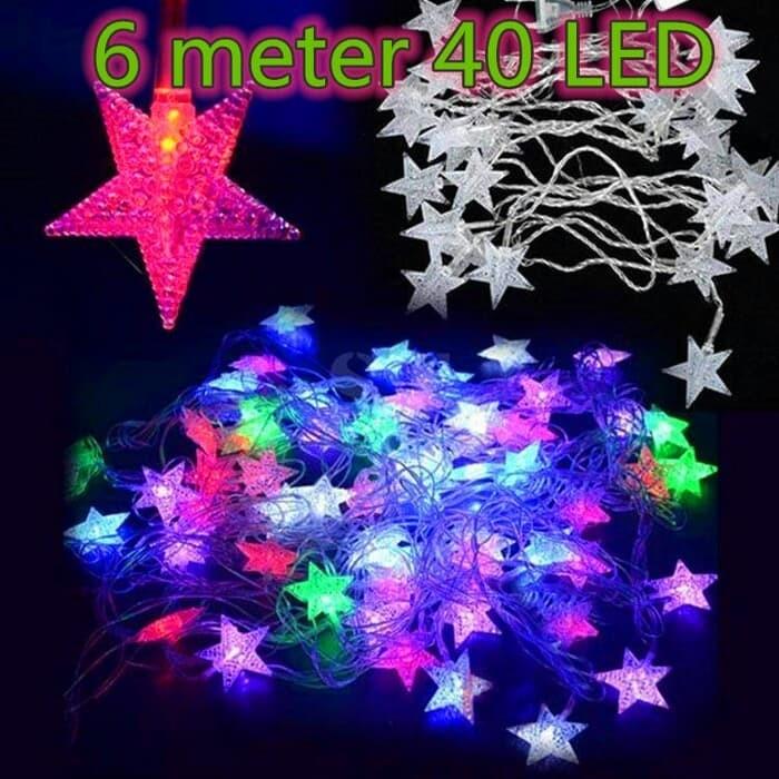 Jual Lampu Natal Led Lampu Tumblr Bintang Lampu Dekorasi Hias A