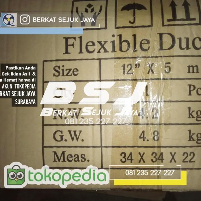Jual FLEXIBLE DUCT / HOSE KATSU 12 INCH 5 METER - BSJ KIPAS KATSU - Kota  Surabaya - Berkat Sejuk Jaya   Tokopedia