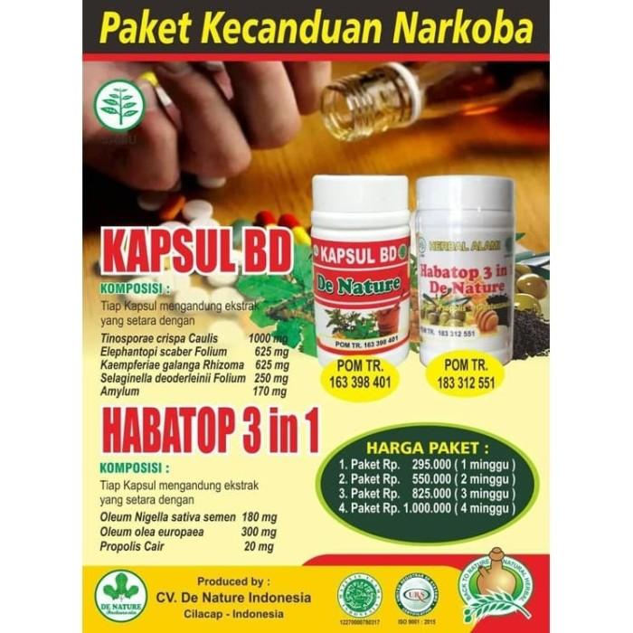 Foto Produk Obat Herbal Narkotika Ampuh De Nature dari Pusat De Nature Herbal