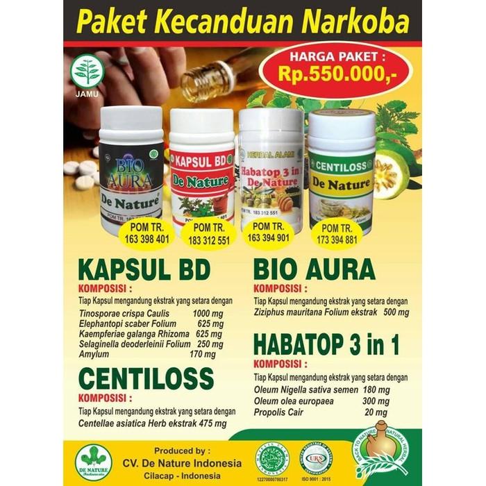 Foto Produk GARANSI Obat Herbal Pecandu Narkotika Ampuh De Nature dari Pusat De Nature Herbal
