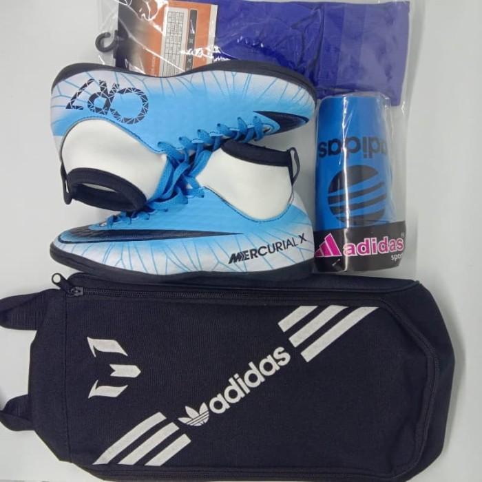Foto Produk PAKET KOMPLIT SEPATU FUTSAL ANAK NIKE CR7 - Putih, 34 dari sepatu sport 123