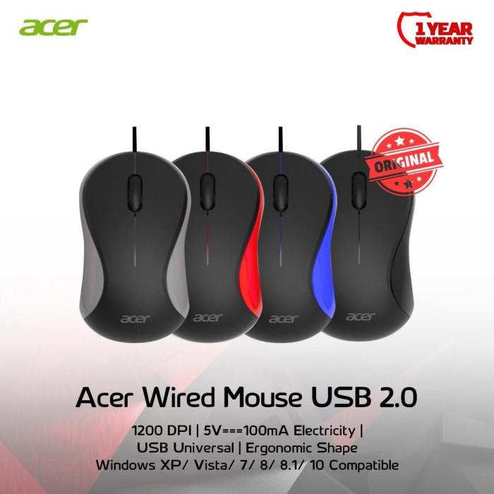 Foto Produk Acer Optical Mouse USB Original dari CS New