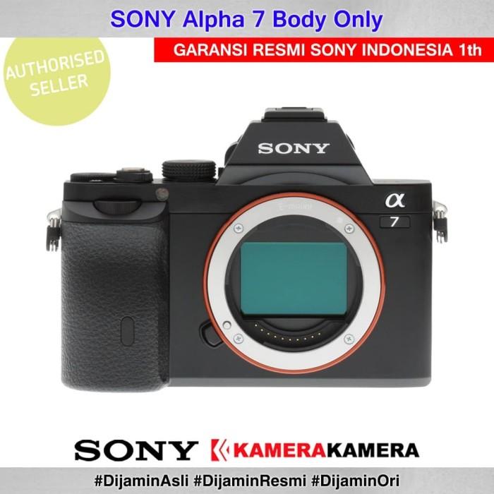 Kamera mirrorless sony alpha 7 body sony alpha 7 bo - garansi resmi