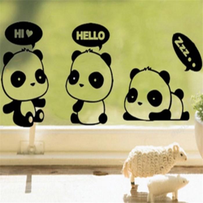 Jual Stiker Dinding Desain Kartun Panda Lucu Bahan Vinyl Untuk Kamar Anak Jakarta Barat Quickto Tokopedia