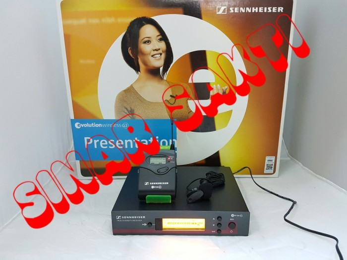 Foto Produk Mic wireless Sennheiser EW 122 G3 ( clip on ) dari Nandifa Dwi Tanzila