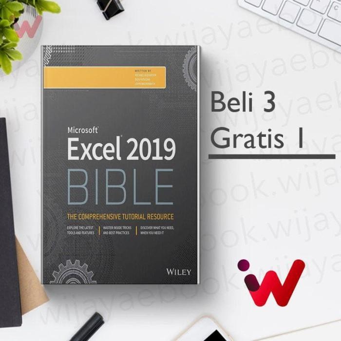 Jual Excel 2019 Bible [eBook/e-book] - DKI Jakarta - Wijaya Ebook |  Tokopedia
