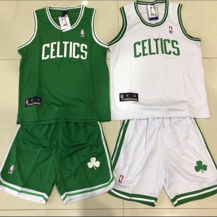 the latest cac34 8221d Jual Setelan Jersey Baju Basket Anak NBA GO GRADE ORI Celtics celtic - DKI  Jakarta - AZZURRI 2   Tokopedia