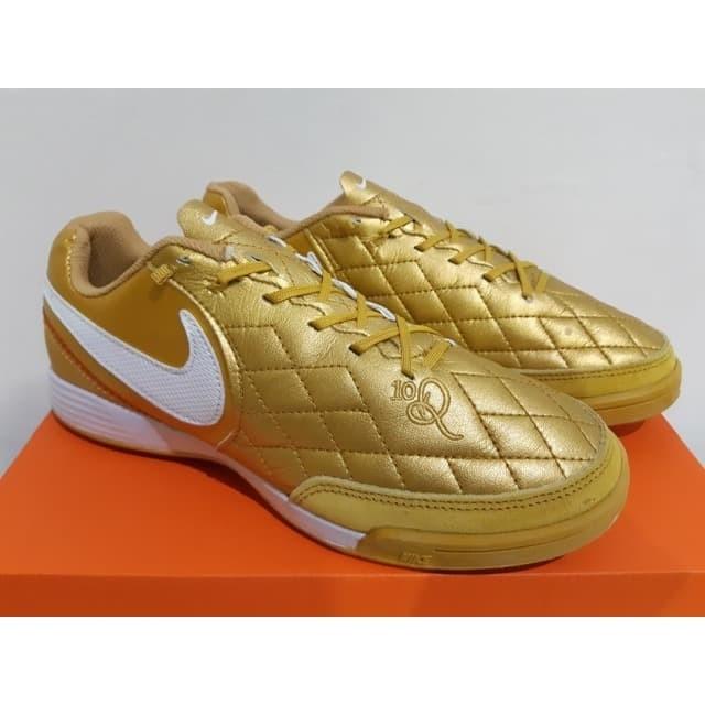 the best attitude 03ac2 aacd7 Jual Sepatu Futsal Nike Tiempo LegendX 7 Academy Genio R10 Gold White -  Jakarta Selatan - EF Store_JKT   Tokopedia