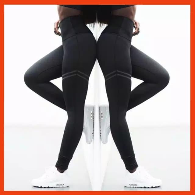 Jual Celana Legging Wanita Pants Premium Leging Sport Lari Trainning Hitam Kota Bandung Sarung Tenun Bandung Tokopedia