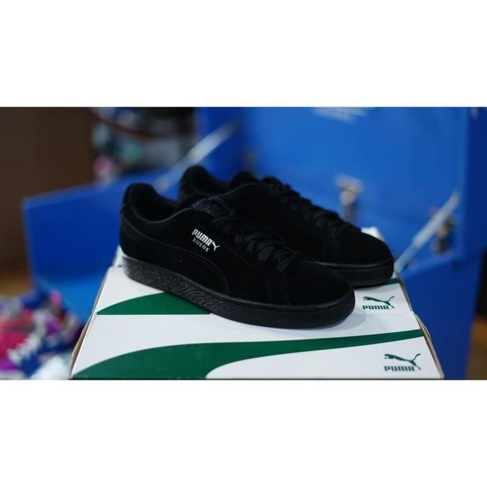 buy popular 0ebeb 6782d Jual SEPATU PUMA SUEDE CLASSIC DARK BLACK BNIB 100% ORIGINAL - DKI Jakarta  - dhilz olshop | Tokopedia