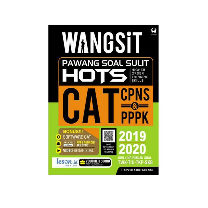 Jual Wangsit Pawang Soal Sulit Cpns Dan Pppk 2019 2020 Kab Tangerang Mat Store Tokopedia