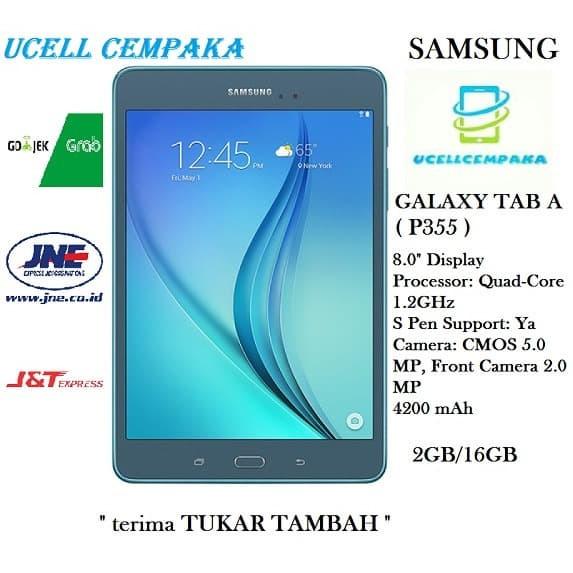 harga Samsung galaxy tab a 8.0 sm-p355 tablet ram 2gb rom 16gb garansi resmi Tokopedia.com