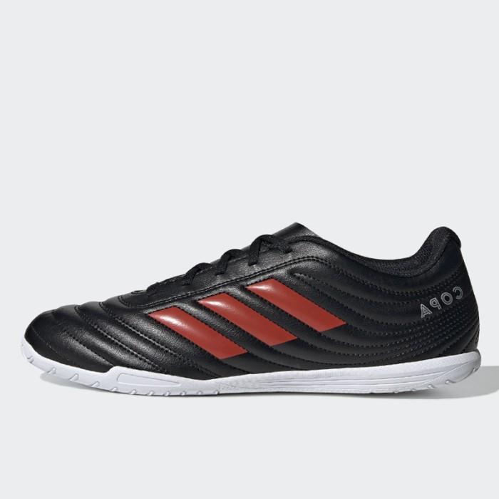 Jual Sepatu Futsal Adidas Copa 19 4 Indoor Black Red Original