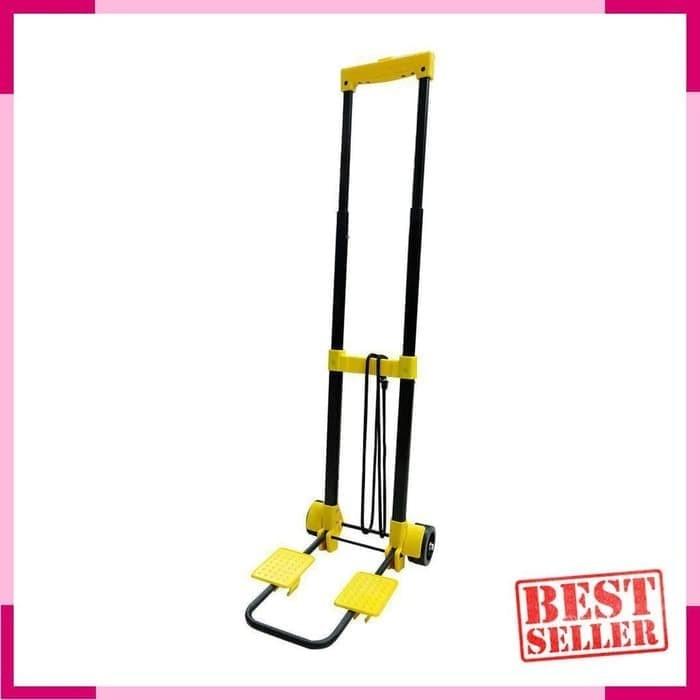 harga 50 kg troli / trolley / dorongan barang lipat portabel praktis Tokopedia.com