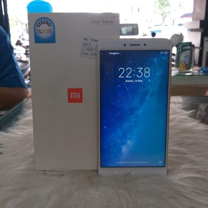 Foto Produk Xiaomi Mi Max 2 (4/64 GB) Gold - Gold dari Frisia Shop