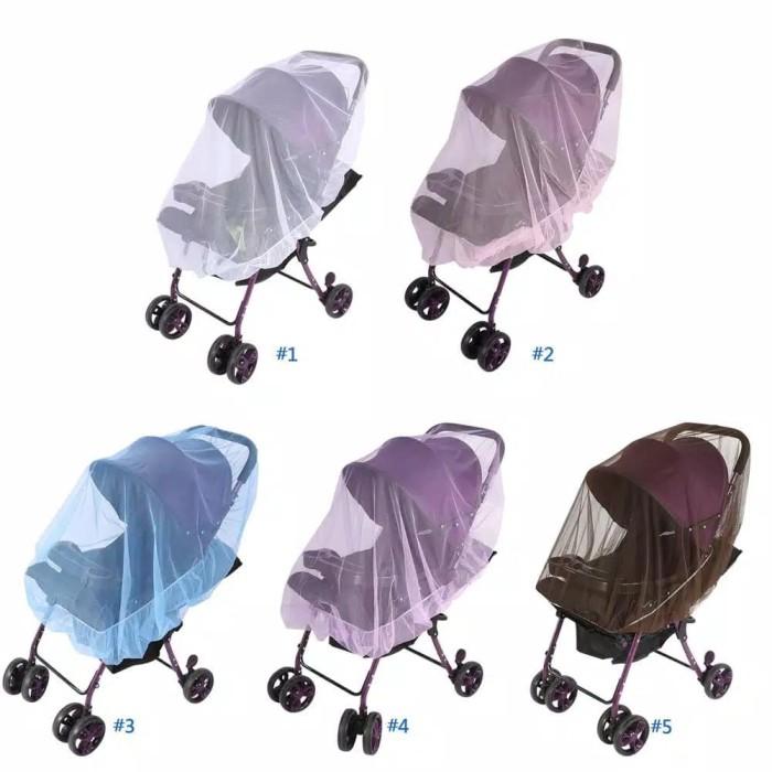 Foto Produk 1Pc Baby Kids Stroller Pushchair Mosquito Insect Net Buggy Safe Protec dari babymazic