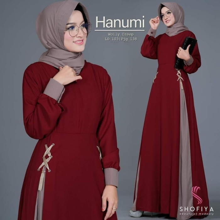 92 Gaya Baju Muslim Hanumi Terbaru