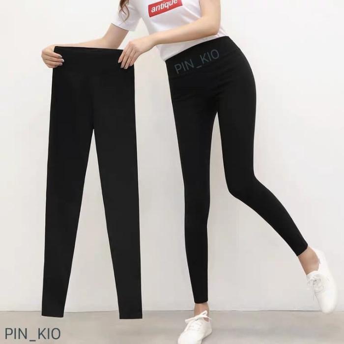 Jual Celana Legging Basic Hitam Polos Leging Wanita Import Termurah Hitam Jakarta Barat Pin Kio Tokopedia