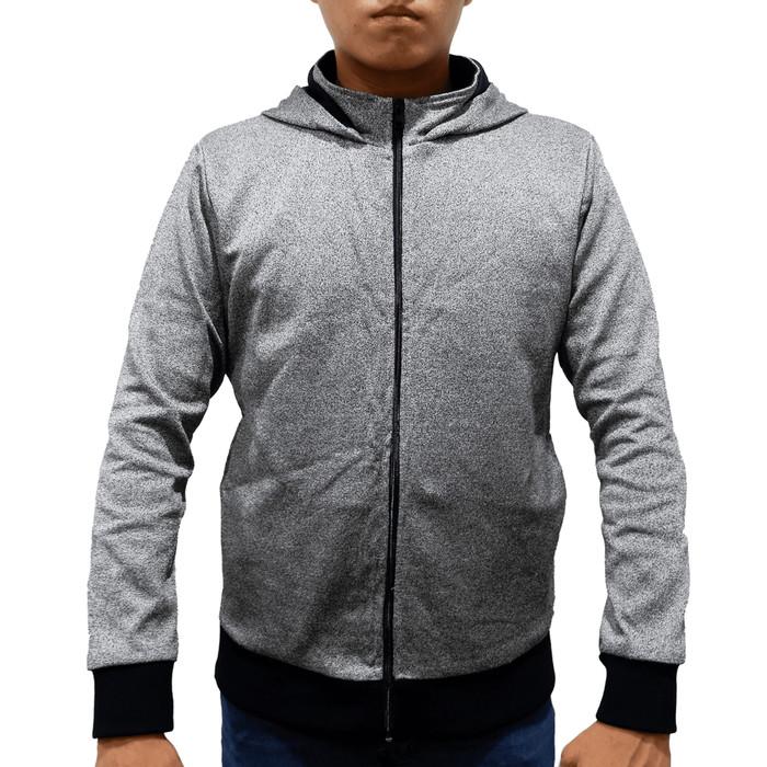 Foto Produk Stylish Armor Hoodie Rib Cuff Sweatshirt with Side Pocket , Jaket - Abu-abu, S dari STYLISH ARMOR