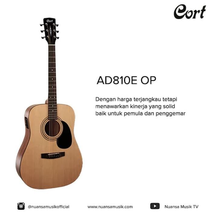 harga Cort ad810e op acoustic electric guitar Tokopedia.com