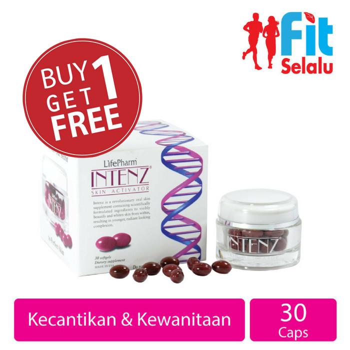 Intenz skin activator kecantikan kulit & kesehatan kulit 30 softgel