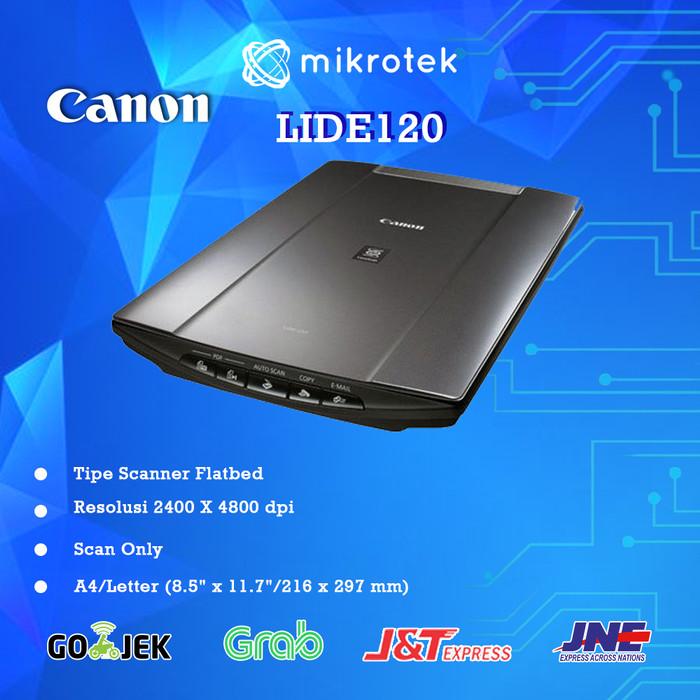 Jual SCANNER CANON LIDE 120 - Kota Medan - mikrotek | Tokopedia