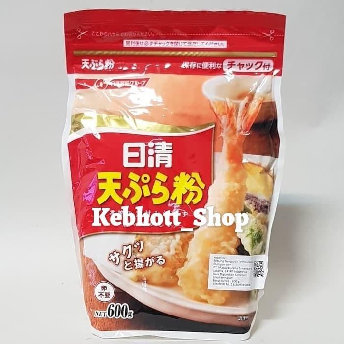 Nisshin nissin tempurako tepung bumbu untuk tempura 600gr