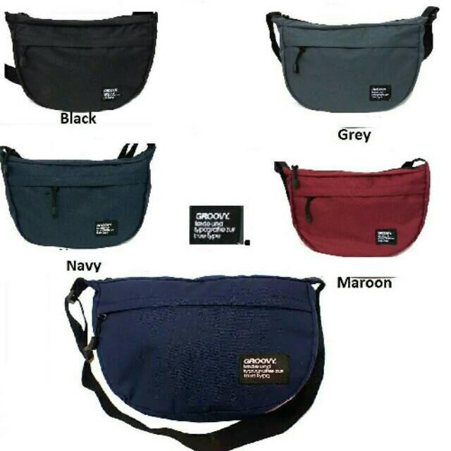 Foto Produk Tas Selempang Groovy Sling Bag Cowok Waistbag dari ATK MBS