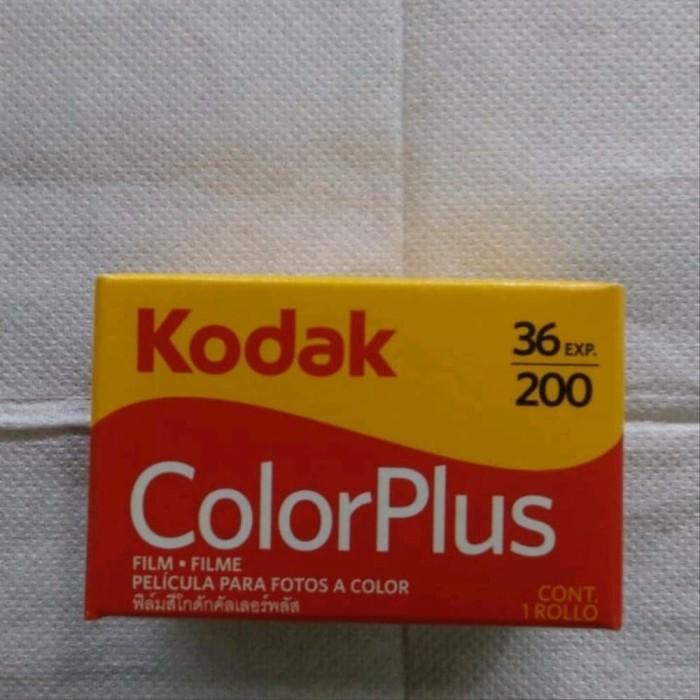 Jual Roll Film Kodak Color Plus Asa 200 Isi 36 Bukan Roll Fujifilm Dki Jakarta Tokowijayaa Tokopedia