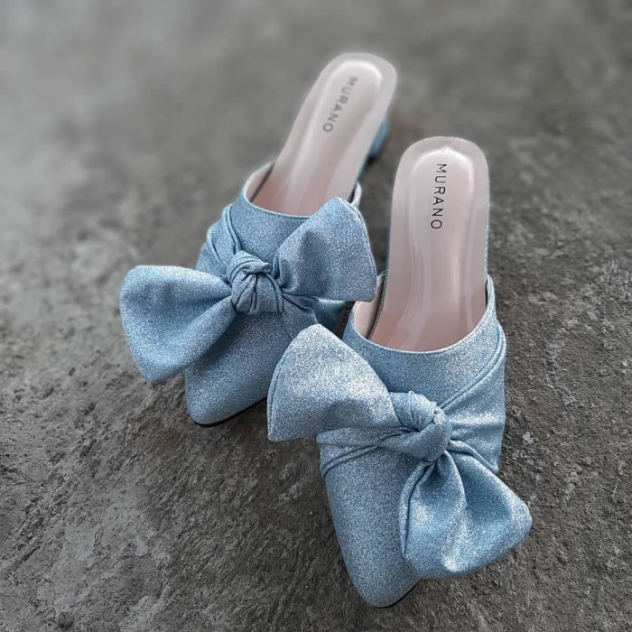Foto Produk Sepatu Wanita Pesta Wedding Glitter Big Size uk 34 - 48 dari Toko Big Size Sharisa