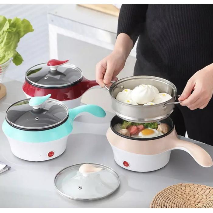 harga Panci listrik panci elektrik kukus masak panci lapisan keramik Tokopedia.com