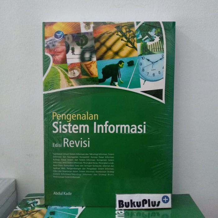 Foto Produk Buku Pengenalan Sistem Informasi Edisi Revisi dari BukuPlus