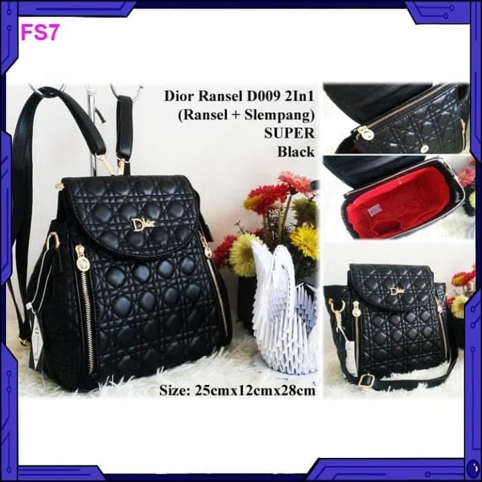 Foto Produk Tas wanita Tas Ransel D009 2in1 Super dari FashionShop11