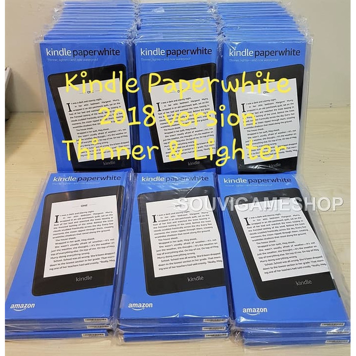 harga Amazon kindle paperwhite 10thgen ebook reader waterproof 8gb ads Tokopedia.com